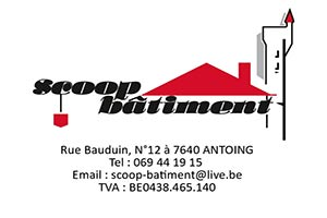 Scoop bâtiment